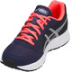 asics Patriot 9 Shoes Women Indigo Blue/Silver/Flash Coral